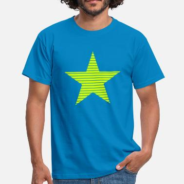 Stars And Stripes Star with Stripes - Men's T-Shirt