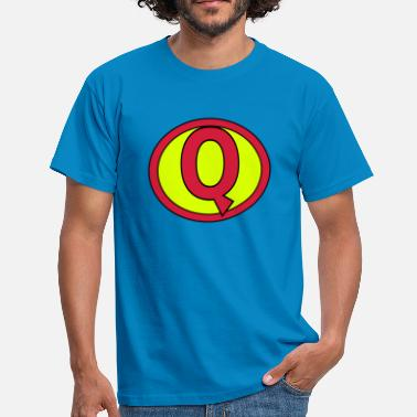 Super Q Super, Superheld, Superheldin, Hero, Q - Men's T-Shirt