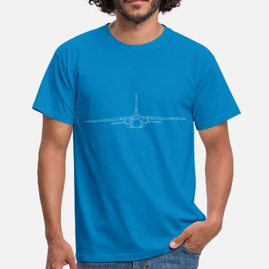 Panavia tornado jet fighter white front - Men's T-Shirt