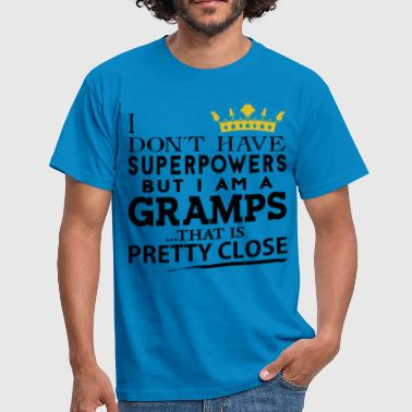 SUPER GRAMPS! - Men's T-Shirt