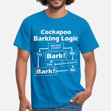 Logic Cockapoo Logic - Men's T-Shirt