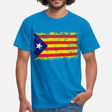 Independencia Catalonia Independence Flag - Camiseta hombre
