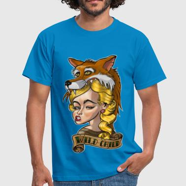 New Tatuaje Wild Child Tattoo / Tatuaje - Camiseta hombre