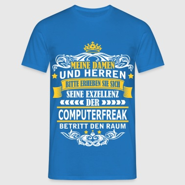 COMPUTERFREAK - Männer T-Shirt