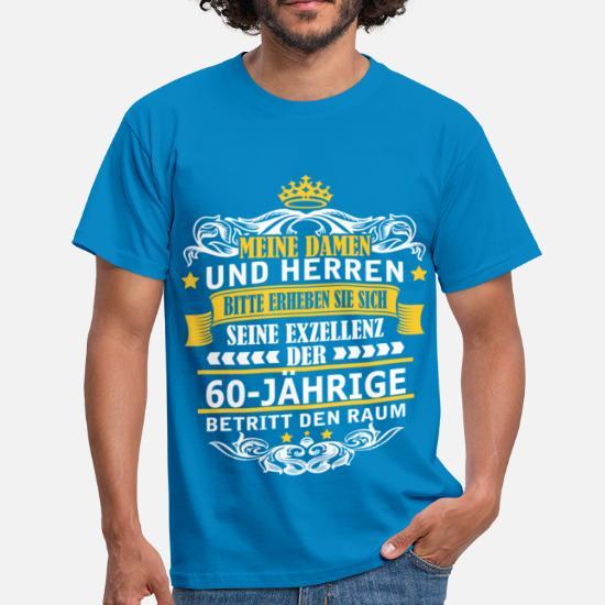 60-JÄHRIGE Männer T-Shirt | Spreadshirt