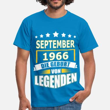 September SEPTEMBER 1966 - Männer T-Shirt
