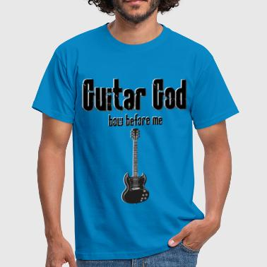 Rock God Guitar God - Men's T-Shirt