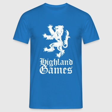 highland games - Männer T-Shirt