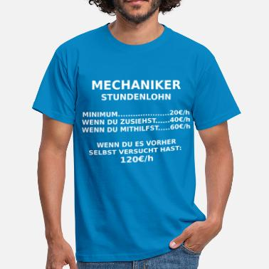 Landmaschinenmechaniker mechaniker - Männer T-Shirt
