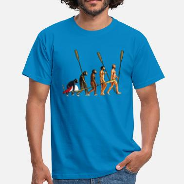 Rowing Evolution of Rowers - Men's T-Shirt