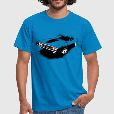 Charger Muscle-car - Männer T-Shirt