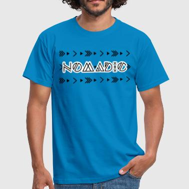 Hippie / Hippies: Nomadic - Men's T-Shirt