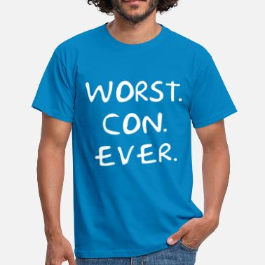 Guy Worst Con Ever - Men's T-Shirt