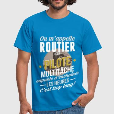 On m'appelle Routier - T-shirt Homme