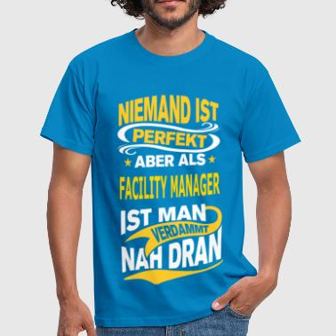 FACILITY MANAGER - Männer T-Shirt