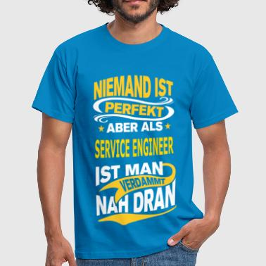 SERVICE ENGINEER - Männer T-Shirt