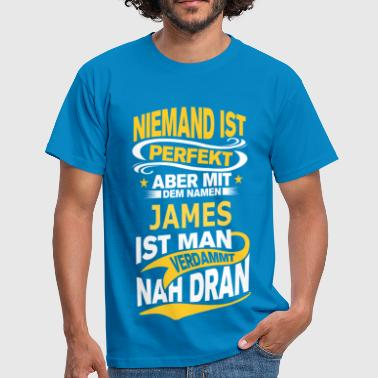 JAMES - Männer T-Shirt