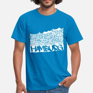 Music Hall Hamburg Music Hall - Hvid - Herre-T-shirt