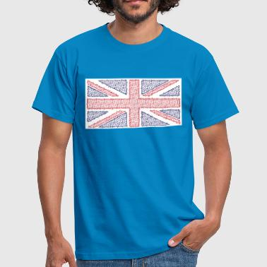 Curvy Union Jack T-Shirt - Men's T-Shirt