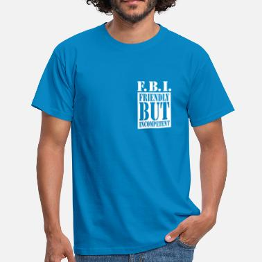 Tv Serien FBI - TV Serie Design - Männer T-Shirt