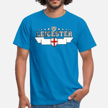 Leicestershire Leicester - Mannen T-shirt