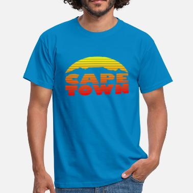 Town TableMountain-Sunset - T-shirt Homme