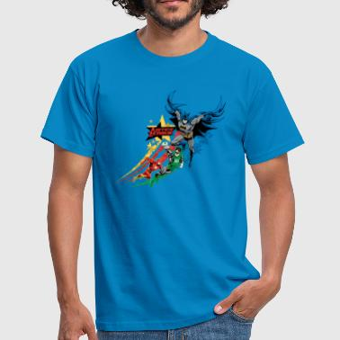 Justice League Power Stars - Mannen T-shirt