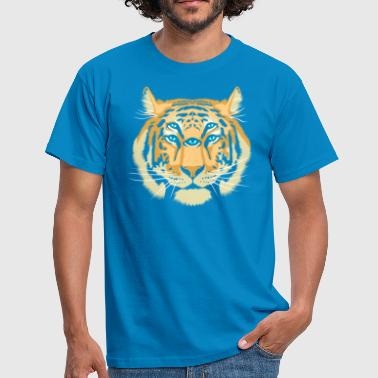 Trippy Tiger Spirit Guide - Mannen T-shirt