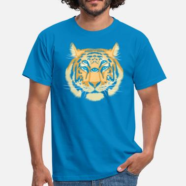 Trippy Guide Tiger Spirit - T-shirt Homme