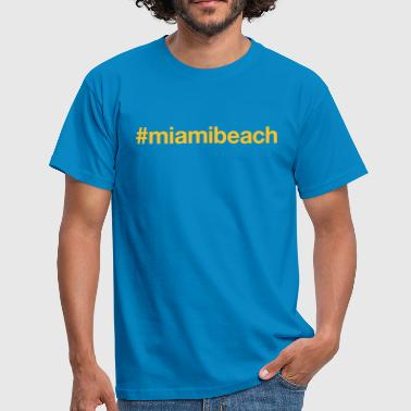 MIAMI BEACH - Mannen T-shirt