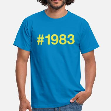 83 Birthday 1983 - Men's T-Shirt