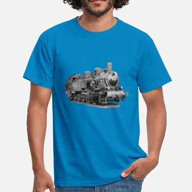 Locomotive À Vapeur Locomotive à vapeur - T-shirt Homme