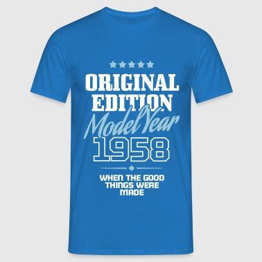 Original Edition 1958 - Männer T-Shirt