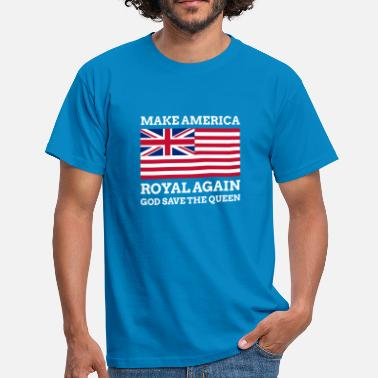 Elizabeth Make America Royal Again - Männer T-Shirt