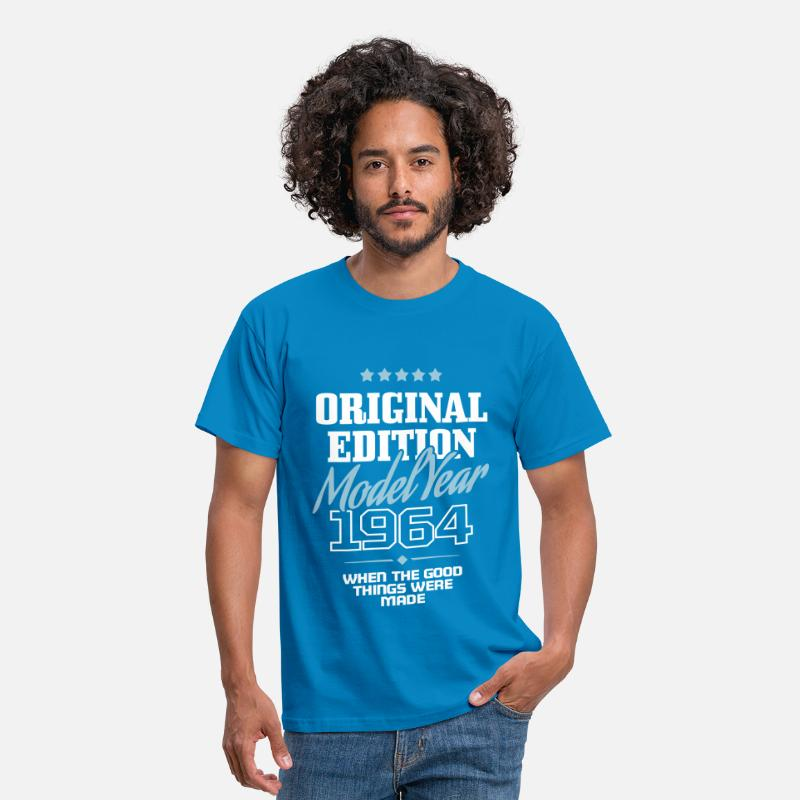 1964 Camisetas - Original Edition - Model Year 1964 - Camiseta hombre azul intenso