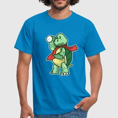 Snowball turtle - Men's T-Shirt