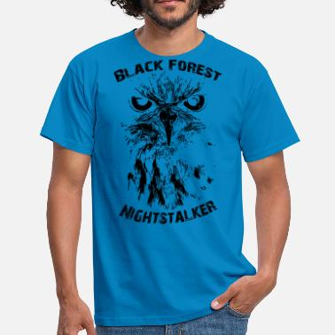 Bf BF Nightstalker sort - Herre-T-shirt