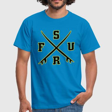 Offensive Streetwear Surf Logo - Men's T-Shirt
