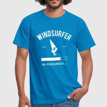 Windsurfer in Progress - Männer T-Shirt