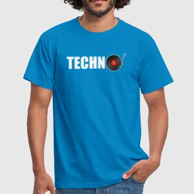techno music - Männer T-Shirt