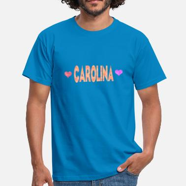 Carolina Carolina - T-skjorte for menn