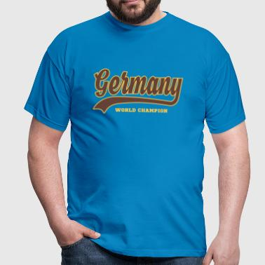 Germany - World Champion  - Männer T-Shirt