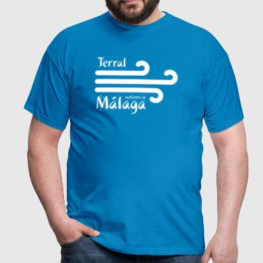 Welcome to Malaga 4 (dark) - Men's T-Shirt