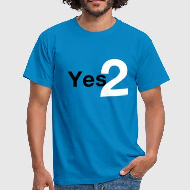 Yes 2 Scottish Independence - Men's T-Shirt