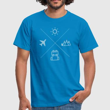 TRAVEL - Mannen T-shirt