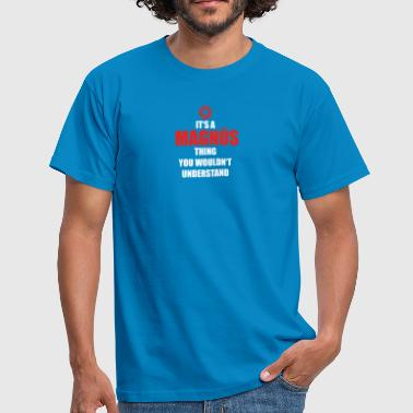 Magnus Gift it sa thing birthday understand MAGNU S - Men's T-Shirt