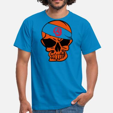Anarcho-capitalism Anarcho Skull Anarchie anarchy 3c - Männer T-Shirt
