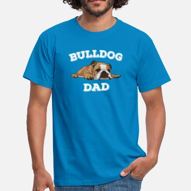 Design Papa Bouledogue Papa Design - Bouledogue Papa - T-shirt Homme