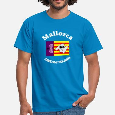 Flag Balearic Islands Mallorca dream island - Men's T-Shirt