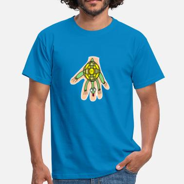 Tortoise Handy animals: Turtle. Super loving and cute - Men's T-Shirt
